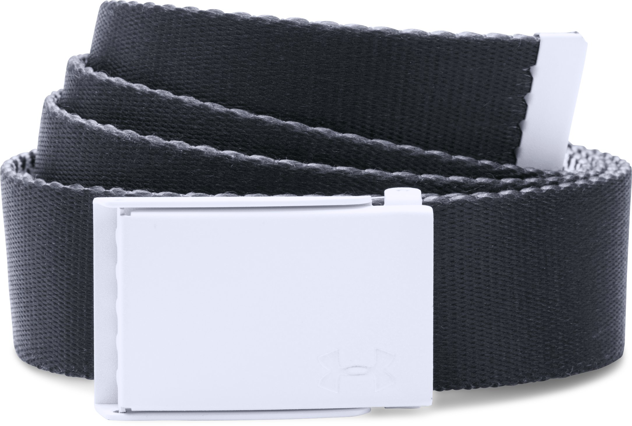 Women's UA Printed Webbing Belt, White, undefined