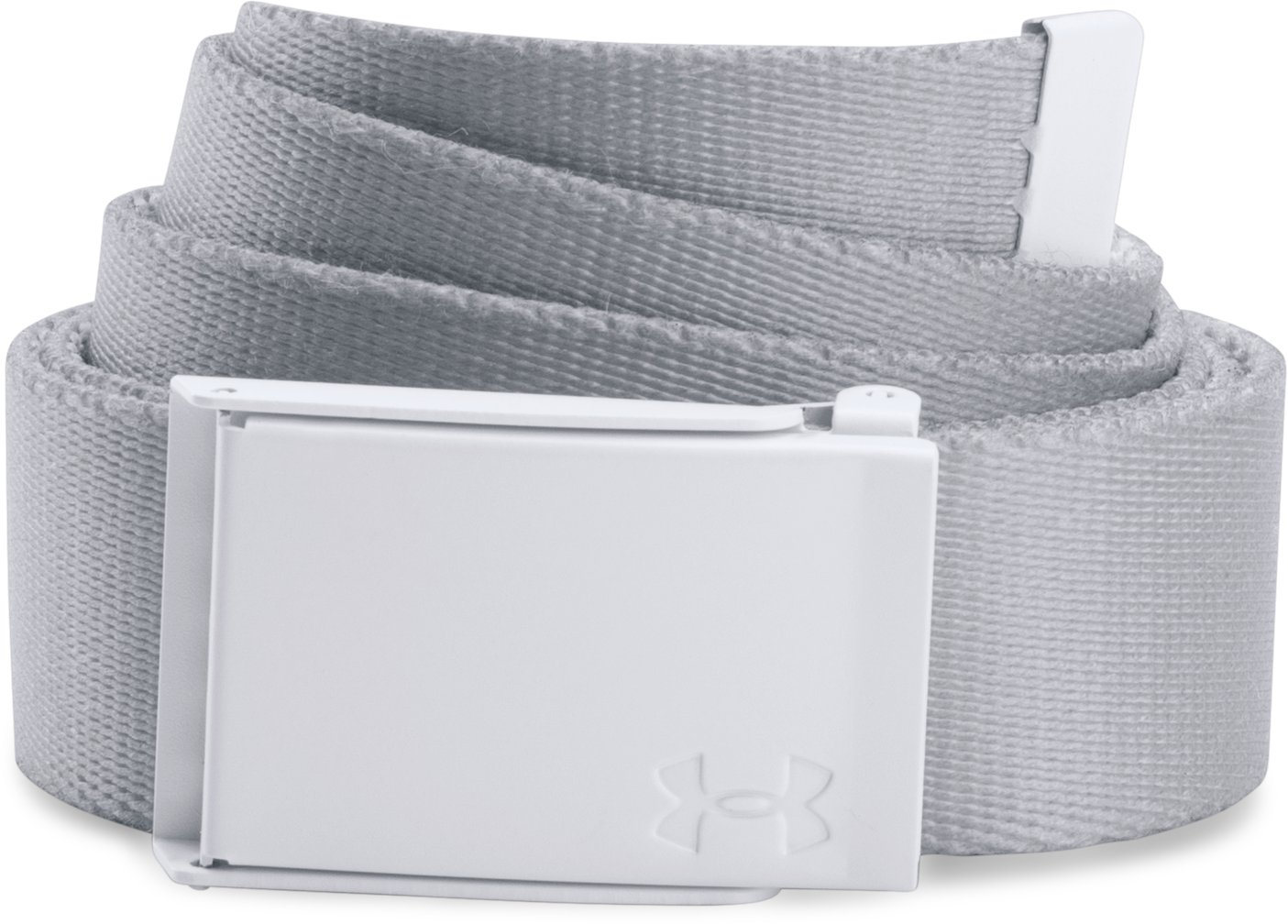 Women's UA Printed Webbing Belt, White,
