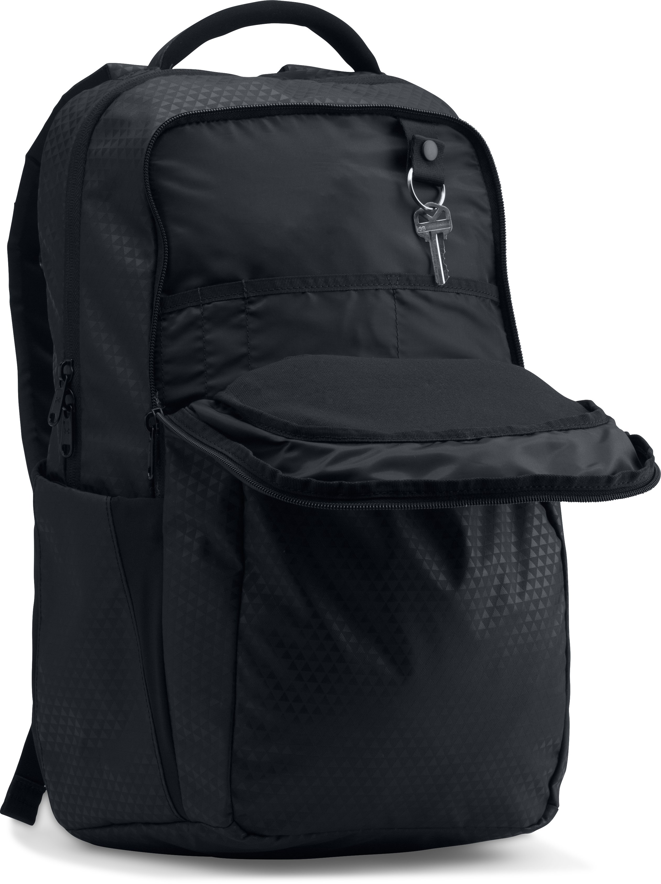Women's UA On Balance Backpack, Black ,