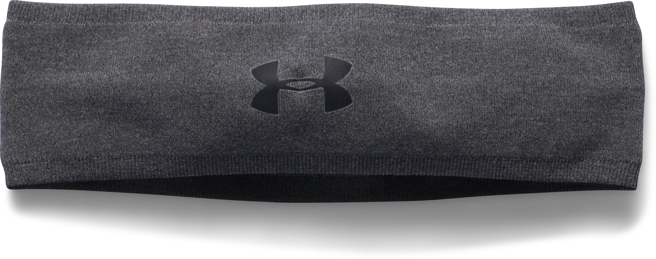 Women's UA Perfect Headband 2.0, Carbon Heather, undefined