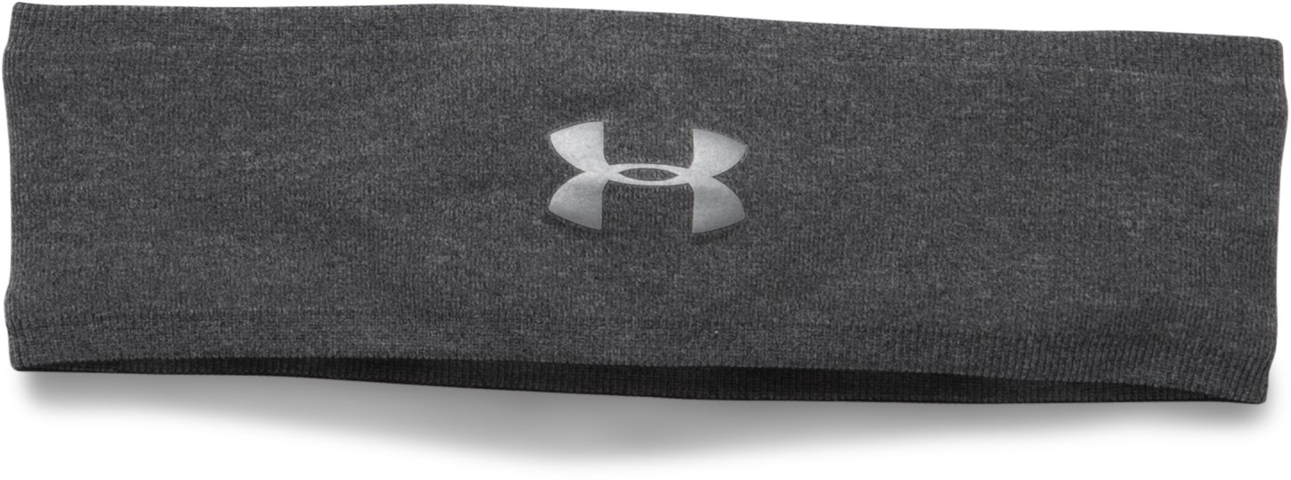Women's UA Perfect Headband 2.0, Carbon Heather