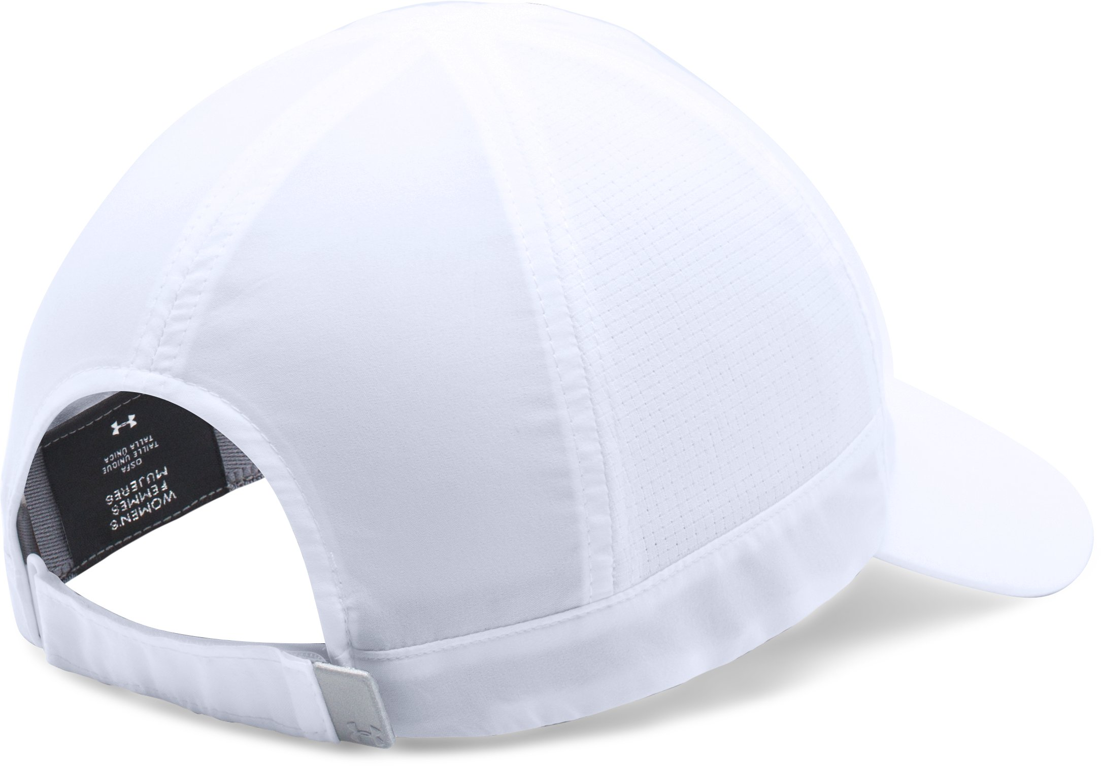 Women's UA Fly-By ArmourVent™ Cap, White, undefined