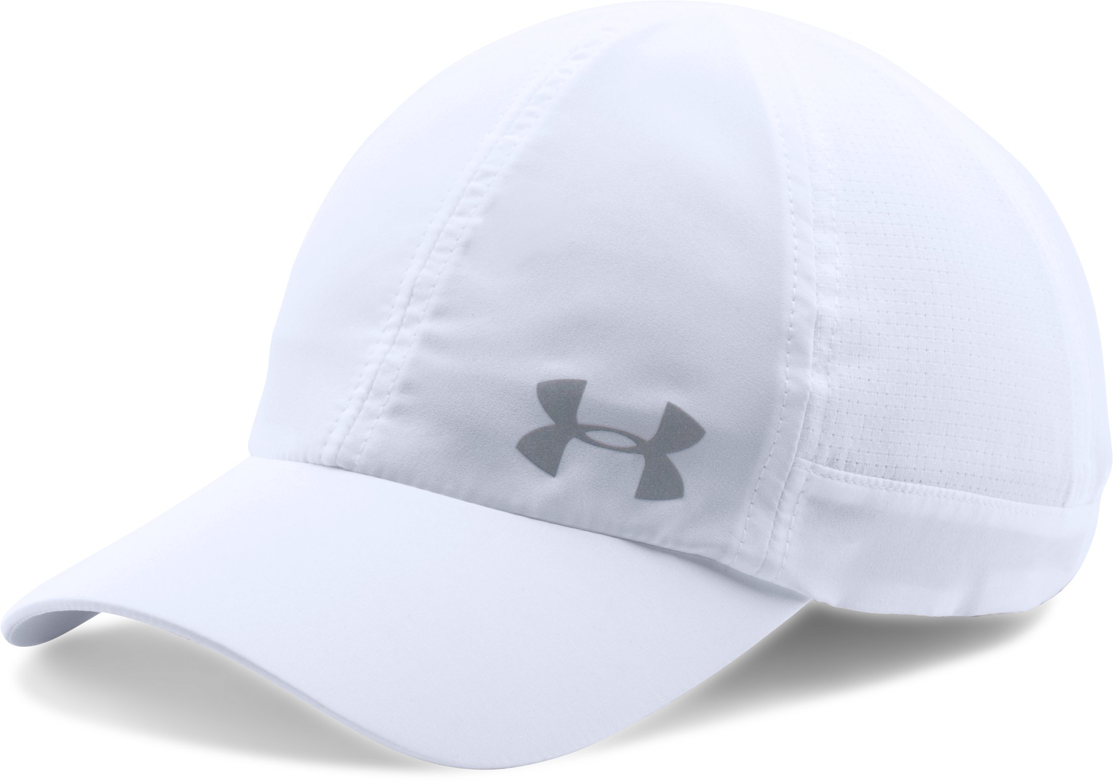 Women's UA Fly-By ArmourVent™ Cap, White