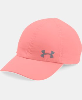 Women's UA Fly-By ArmourVent™ Cap  5 Colors $13.99 to $18.74