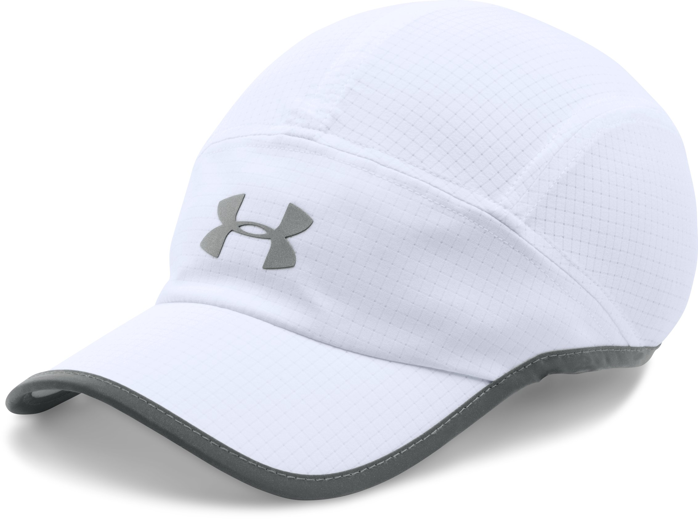 Women's UA Accelerate Cap, White, undefined
