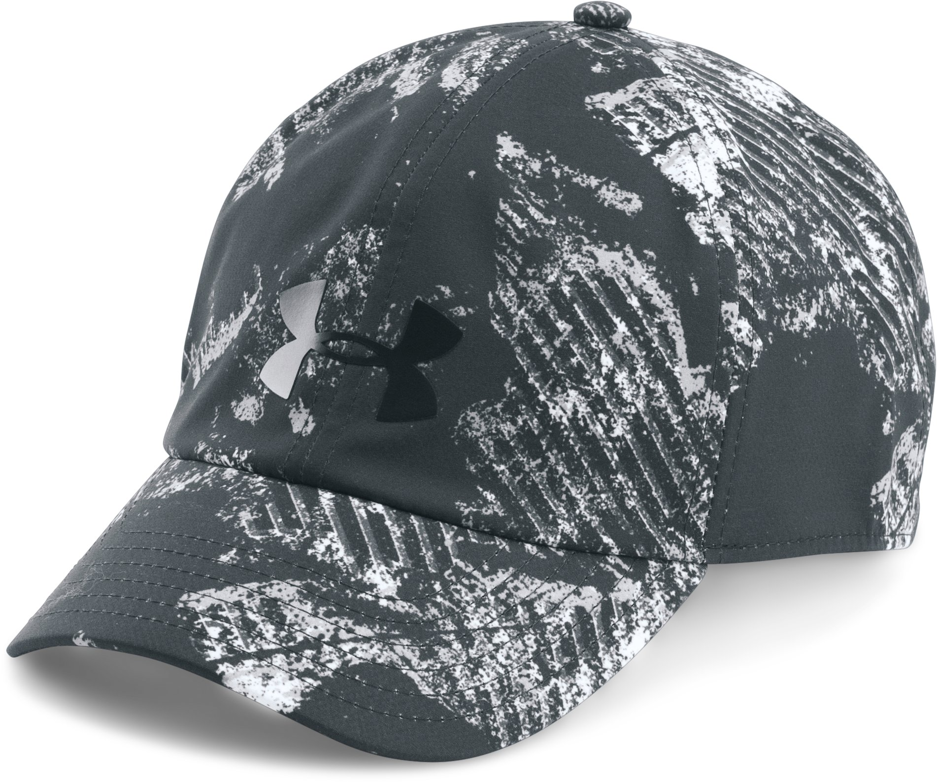 Women's UA Renegade Printed Cap, ANTHRACITE