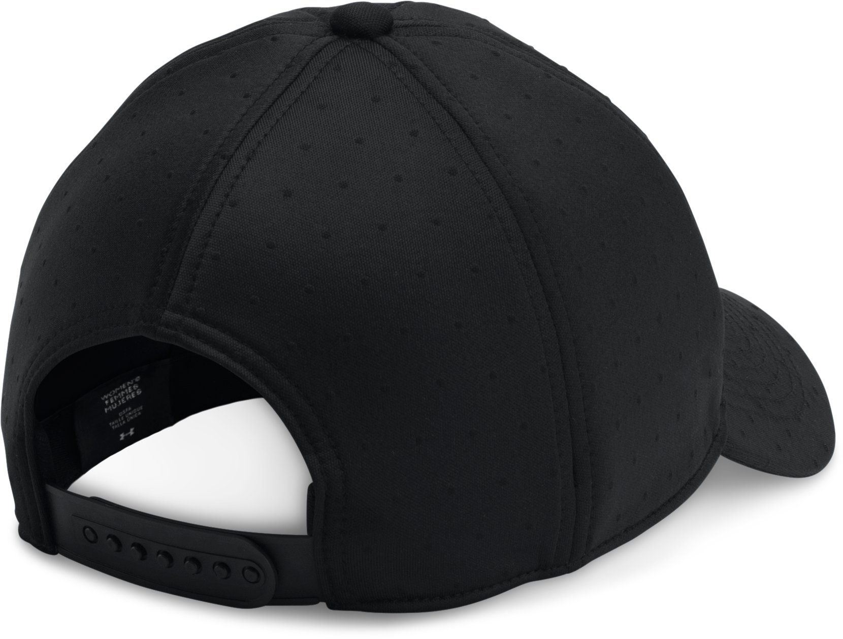 Women's UA City Hopper Cap, Black , undefined