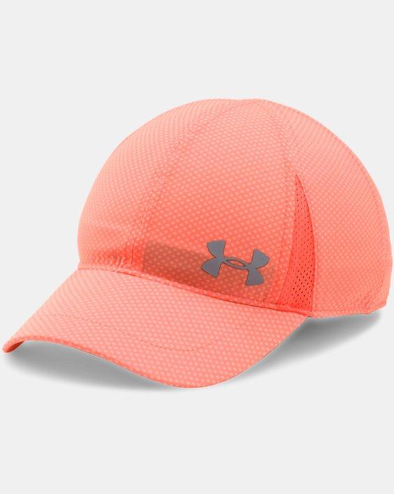 Girls' UA Shadow Cap, Orange, pdpMainDesktop image number 0