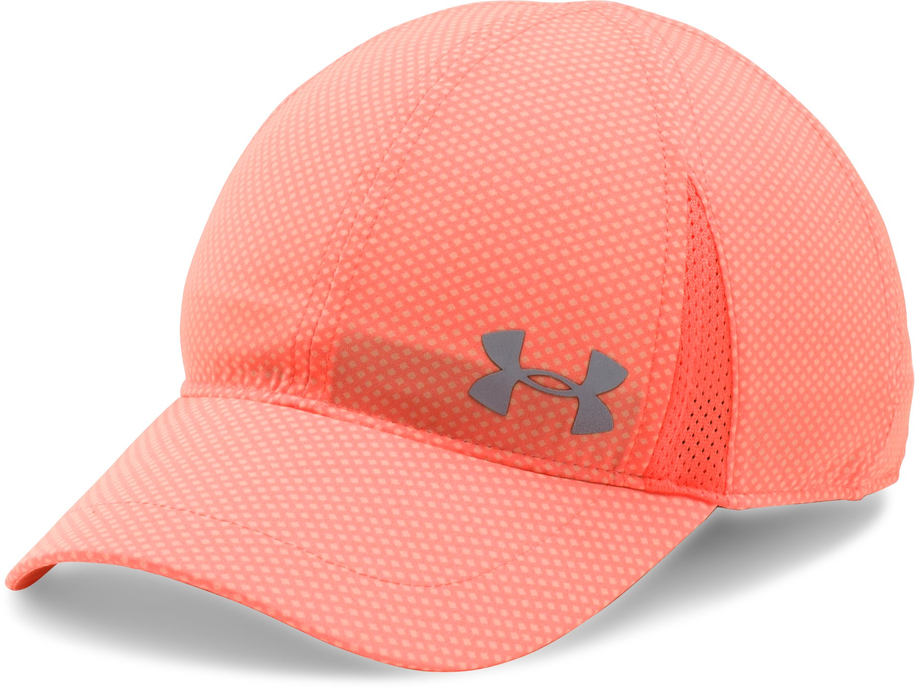 Girls' UA Shadow Cap, LONDON ORANGE
