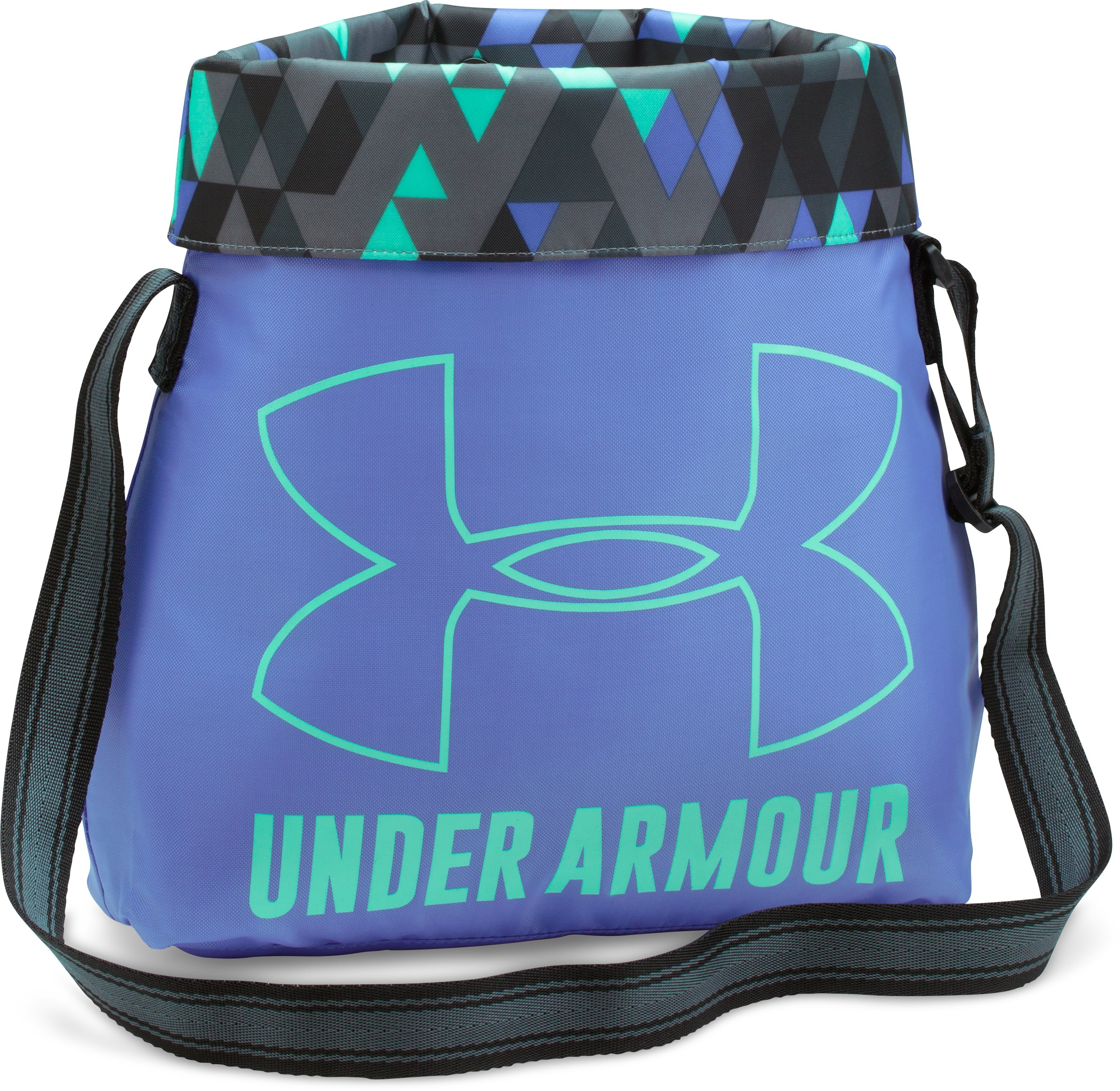 Girls' UA Armour Crossbody Tote, VIOLET STORM, undefined