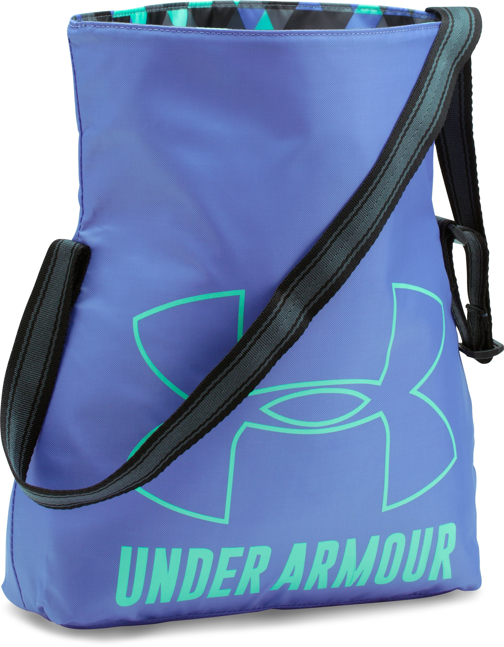 Girls' UA Armour Crossbody Tote, VIOLET STORM,