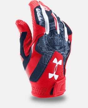 Men's UA Yard Undeniable Batting Gloves — Limited Edition  1 Color $31.49