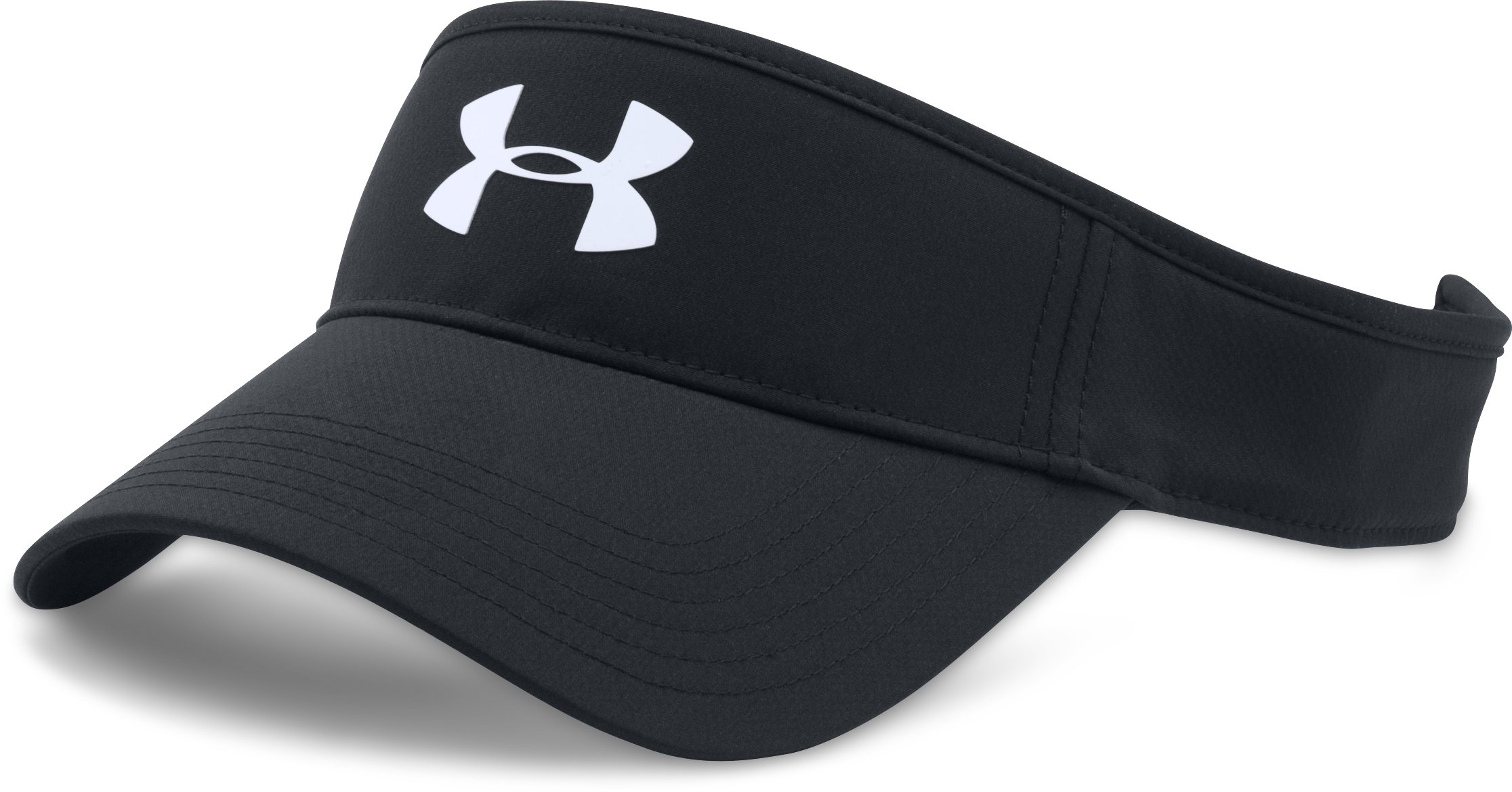 Men's UA Headline Golf Visor, Black ,