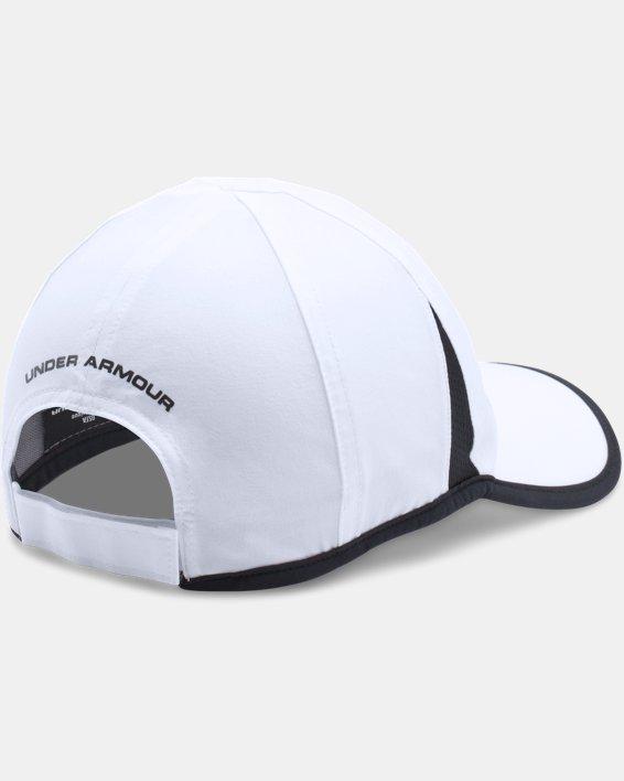 Men's UA Shadow 4.0 Run Cap, White, pdpMainDesktop image number 2