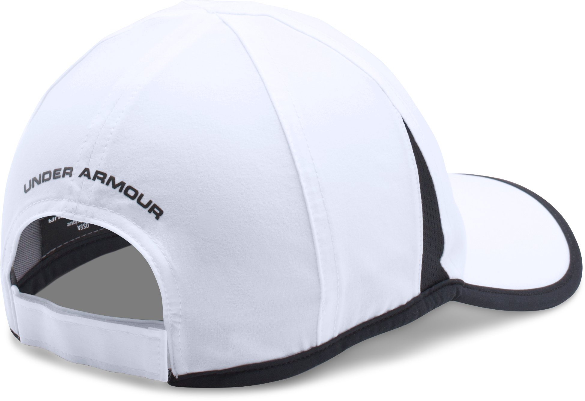 Men's UA Shadow 4.0 Run Cap, White,