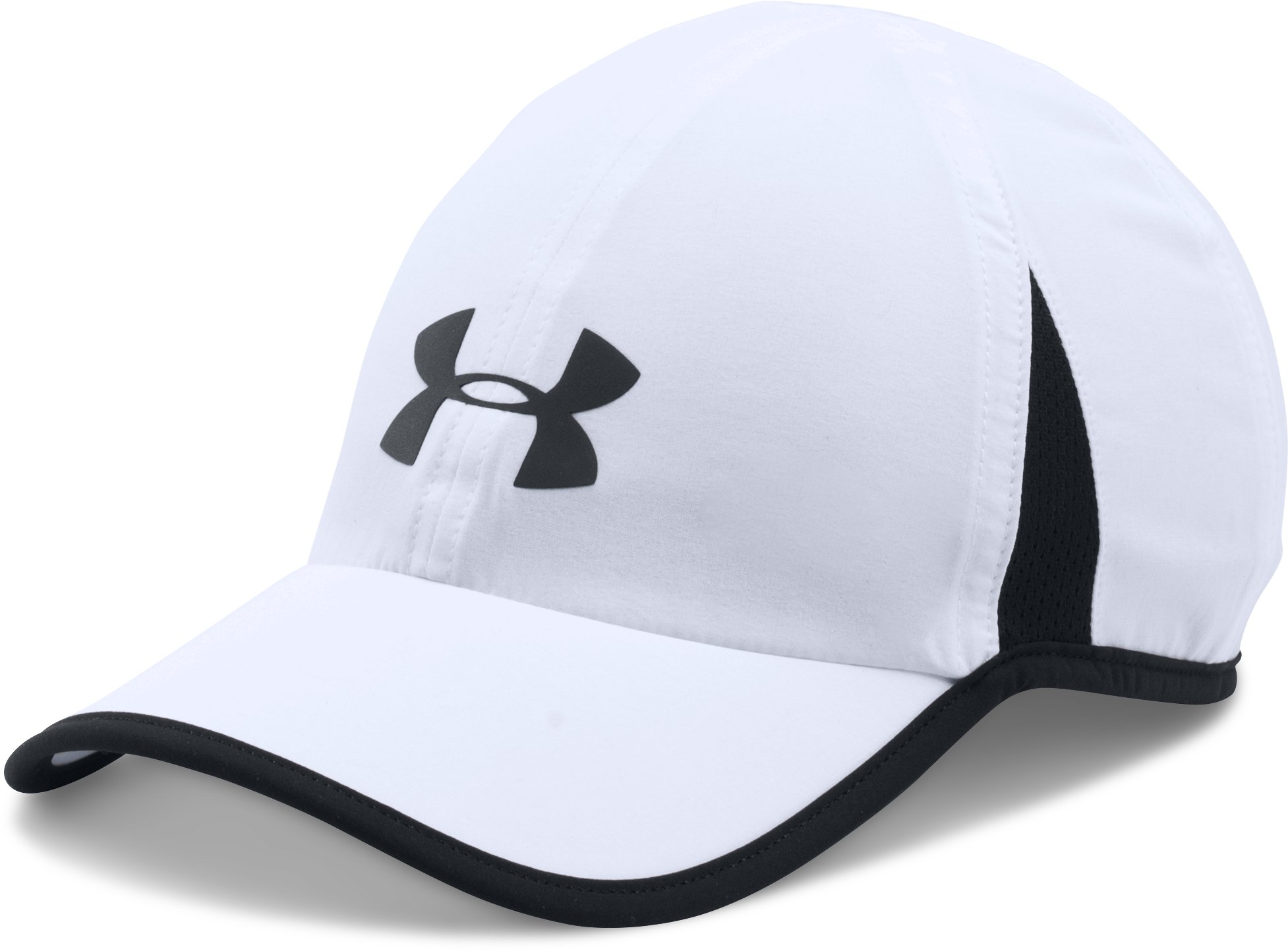 Men's UA Shadow 4.0 Run Cap, White, zoomed image