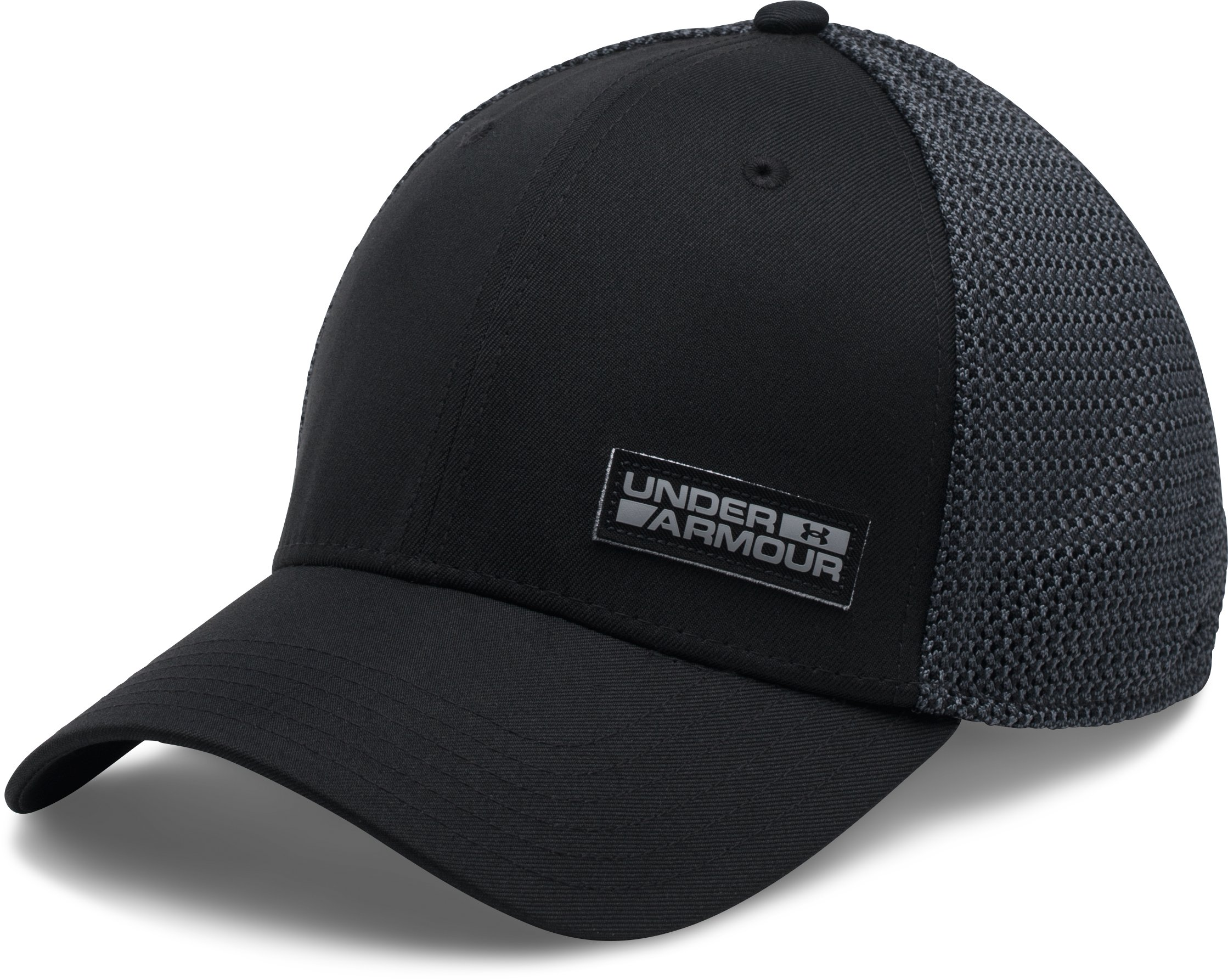 Men's UA Twist Low Crown Cap, Black