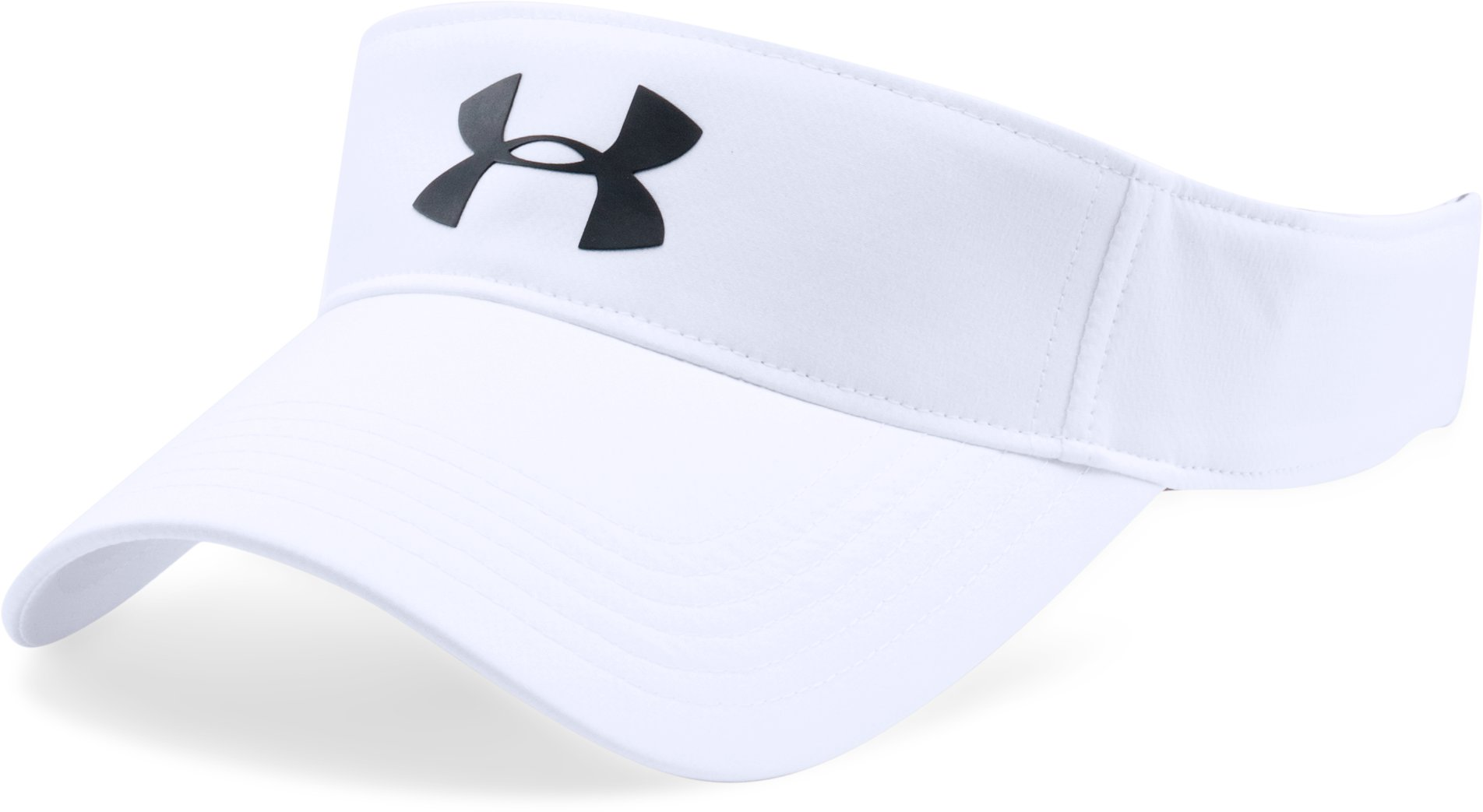 Men's UA Headline 2.0 Visor, White,
