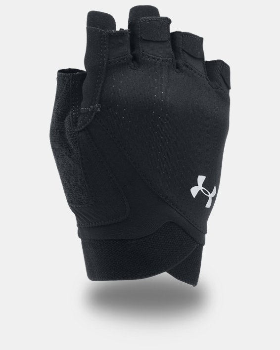 Women's UA CoolSwitch Flux Training Gloves, Black, pdpMainDesktop image number 0