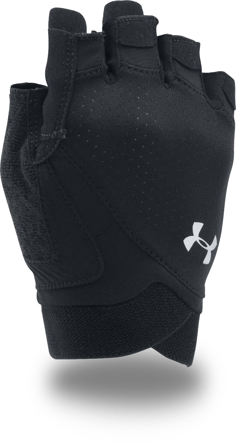 Women's UA CoolSwitch Flux Training Gloves, Black , zoomed image