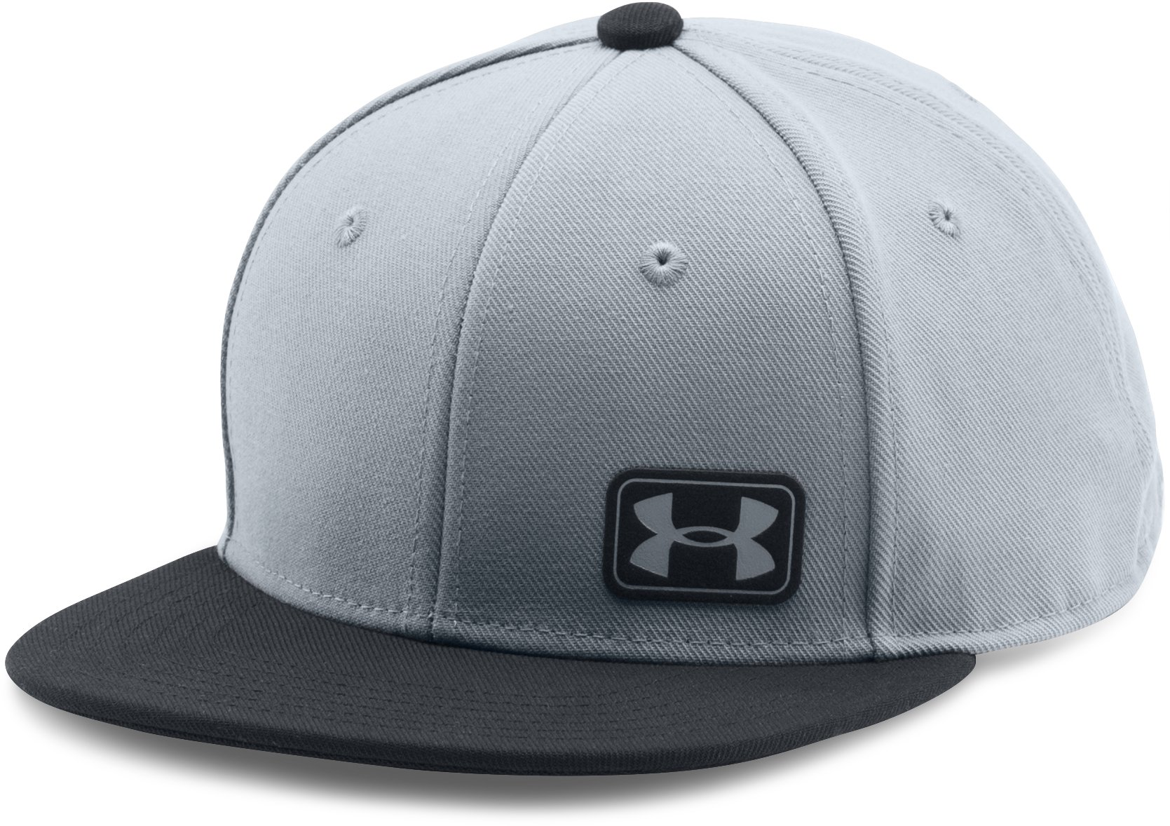 Boys' UA Core Snapback Cap, Steel
