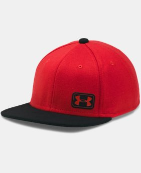 Boys' UA Core Snapback Cap  3 Colors $19.99