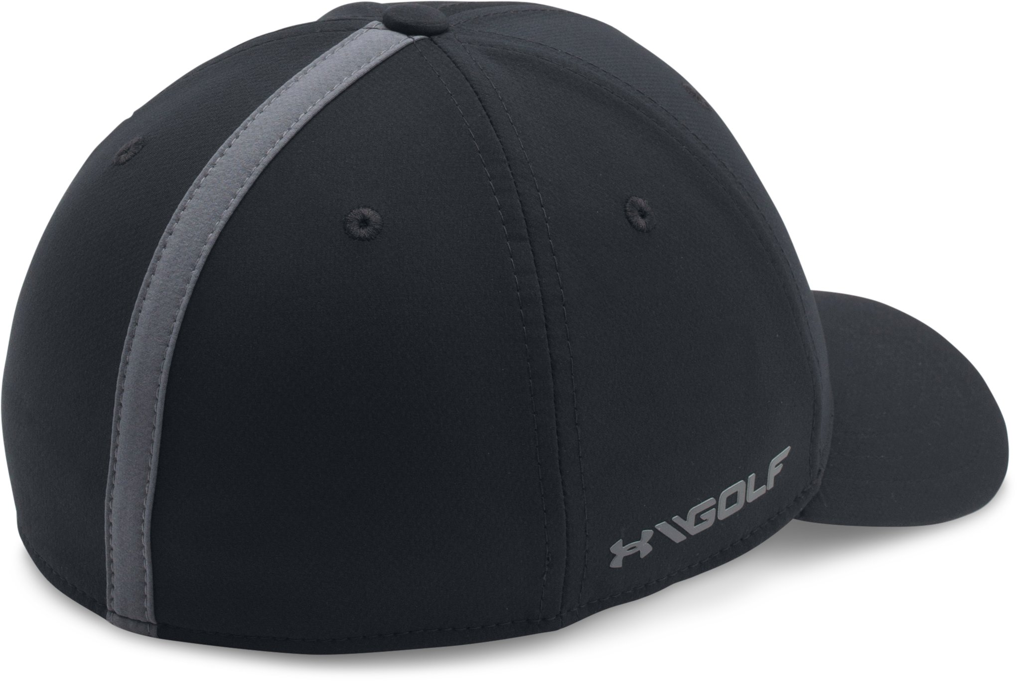 Boys' UA Storm Golf Cap, Black , undefined
