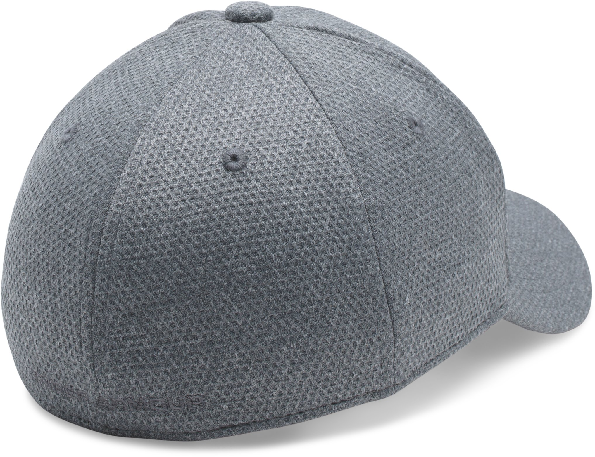 Boys' UA Heathered Blitzing Cap, Steel, undefined