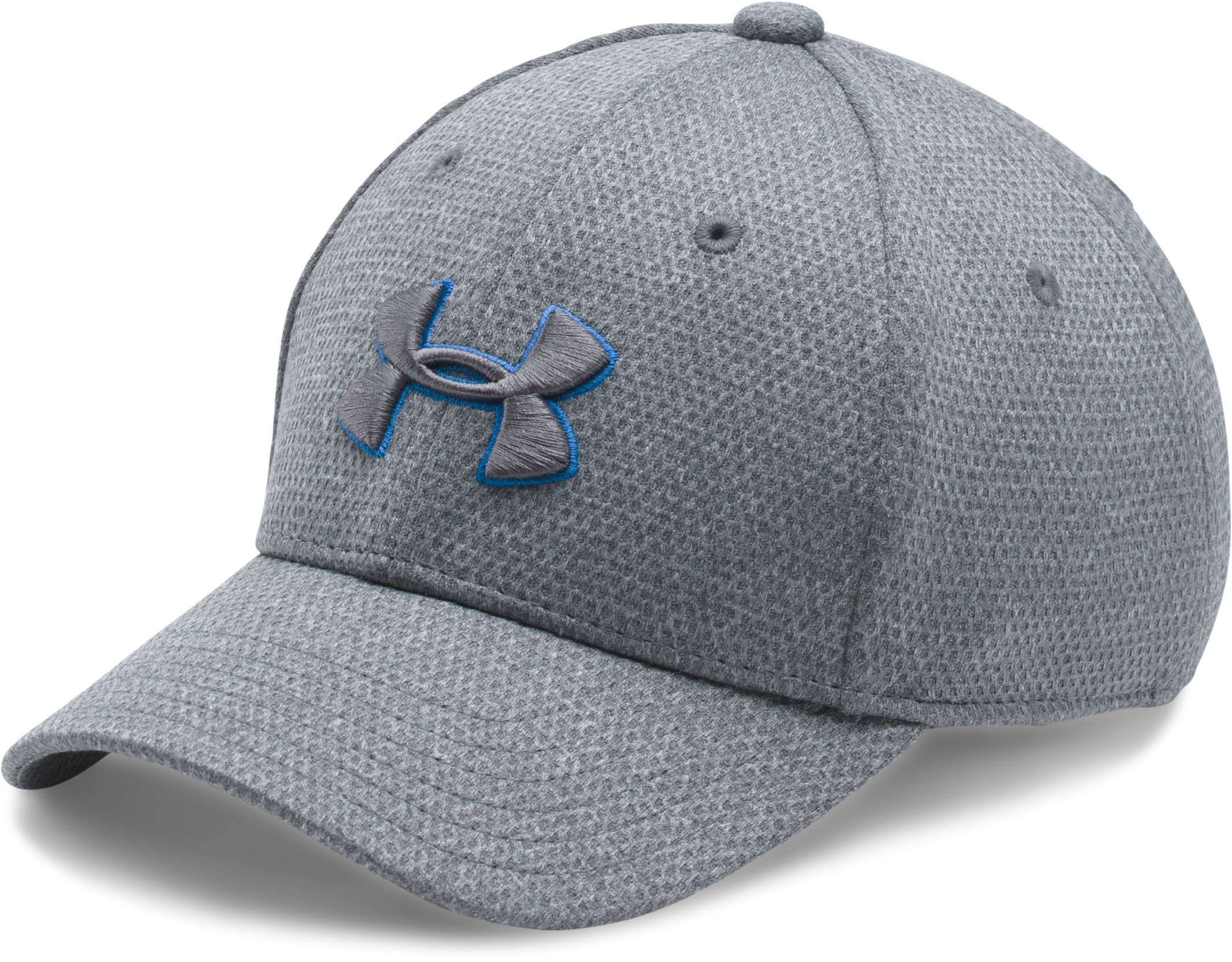 Boys' UA Heathered Blitzing Cap, Steel