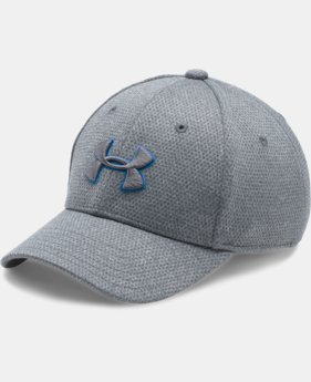 Boys' UA Heathered Blitzing Cap  1 Color $17.99