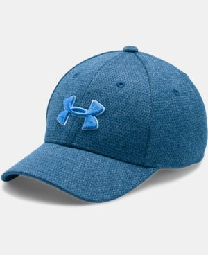 New Arrival Boys' UA Heathered Blitzing Cap  1 Color $17.99