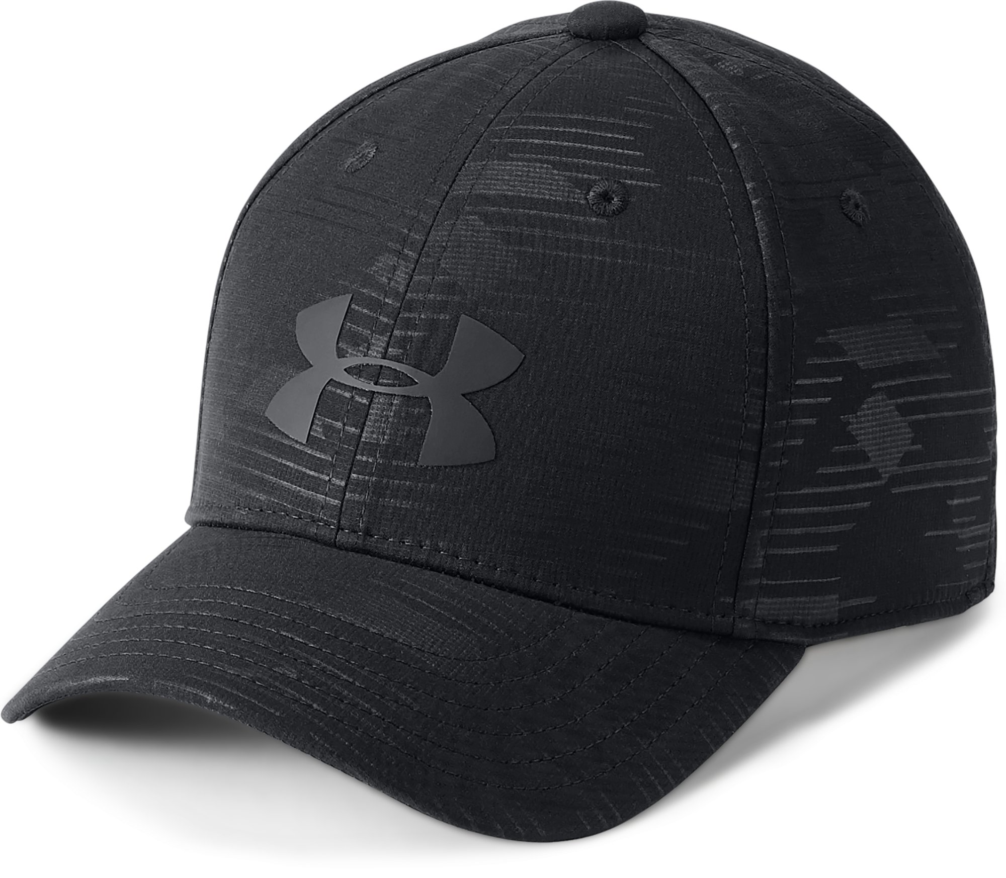 Boys' UA Headline 2.0 Cap, Black ,
