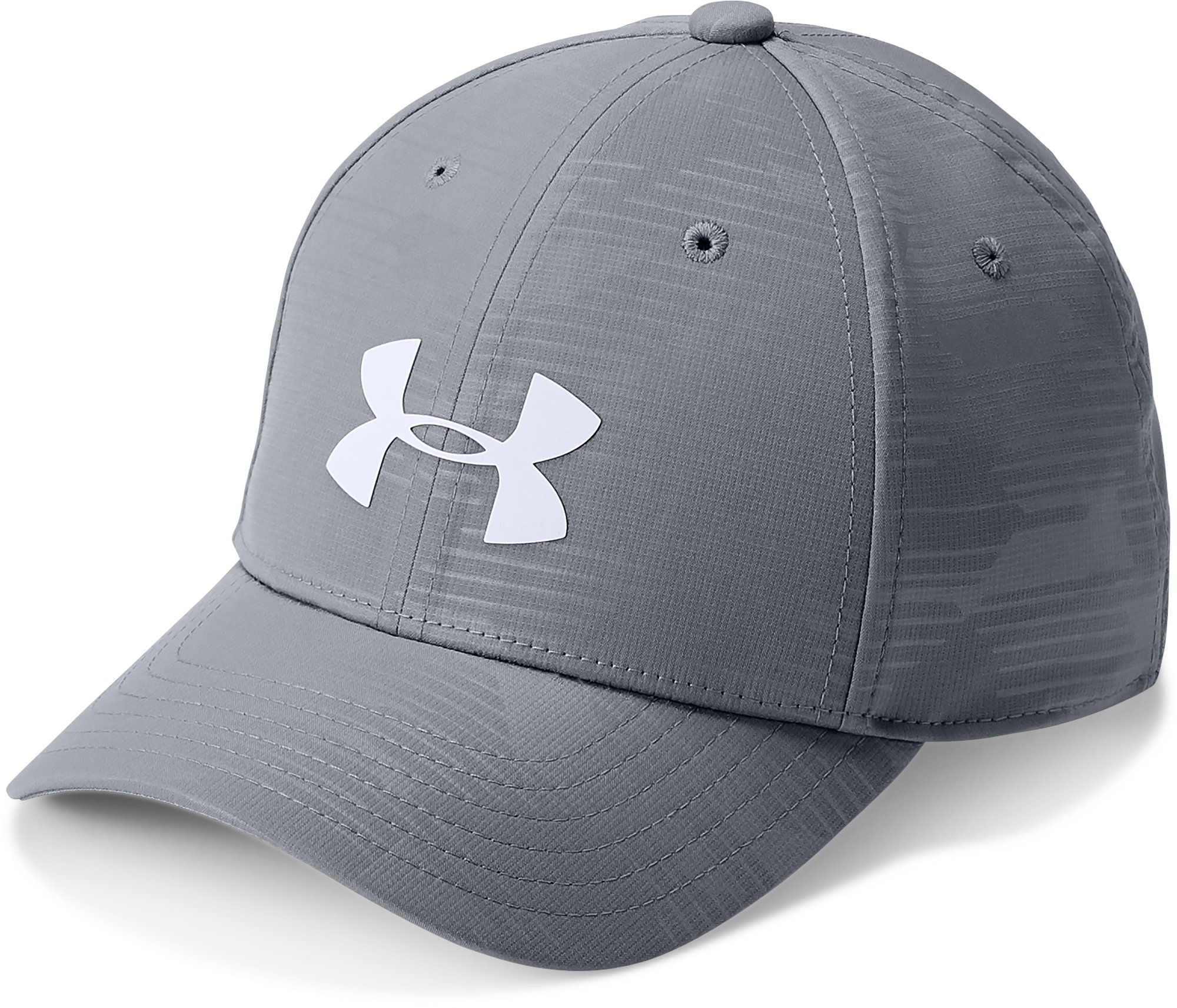 Boys' UA Headline 2.0 Cap, Steel,
