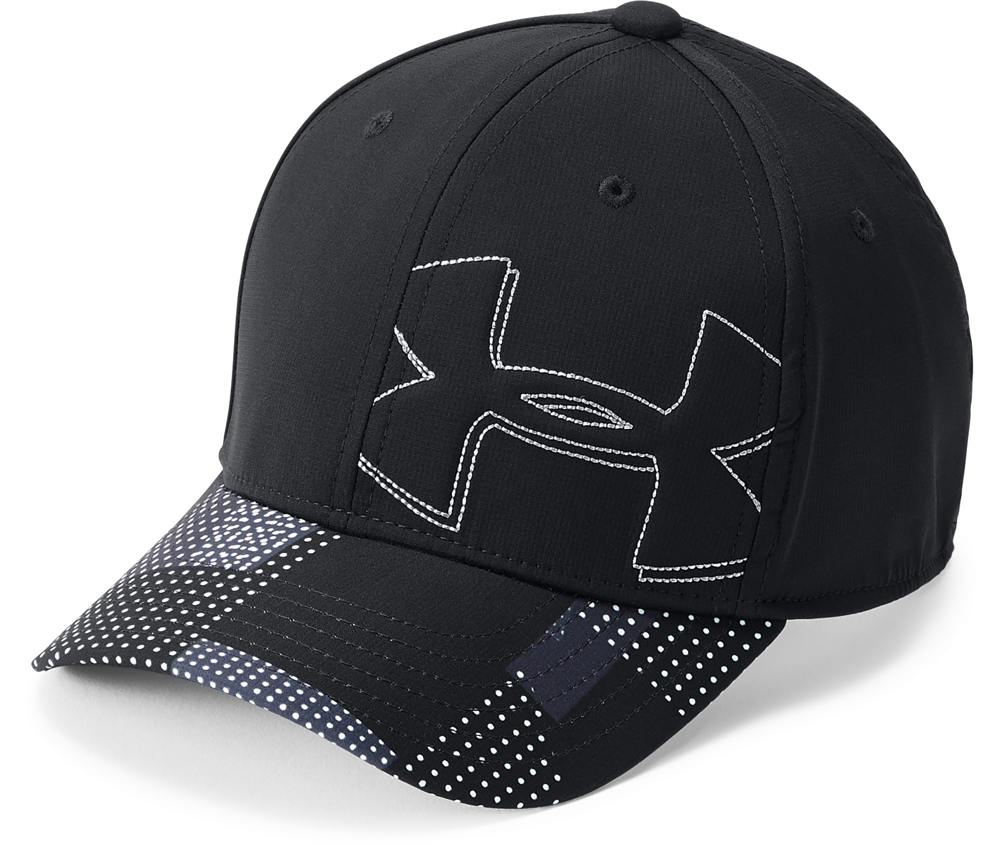 Boys' UA Billboard 2.0 Cap, Black ,