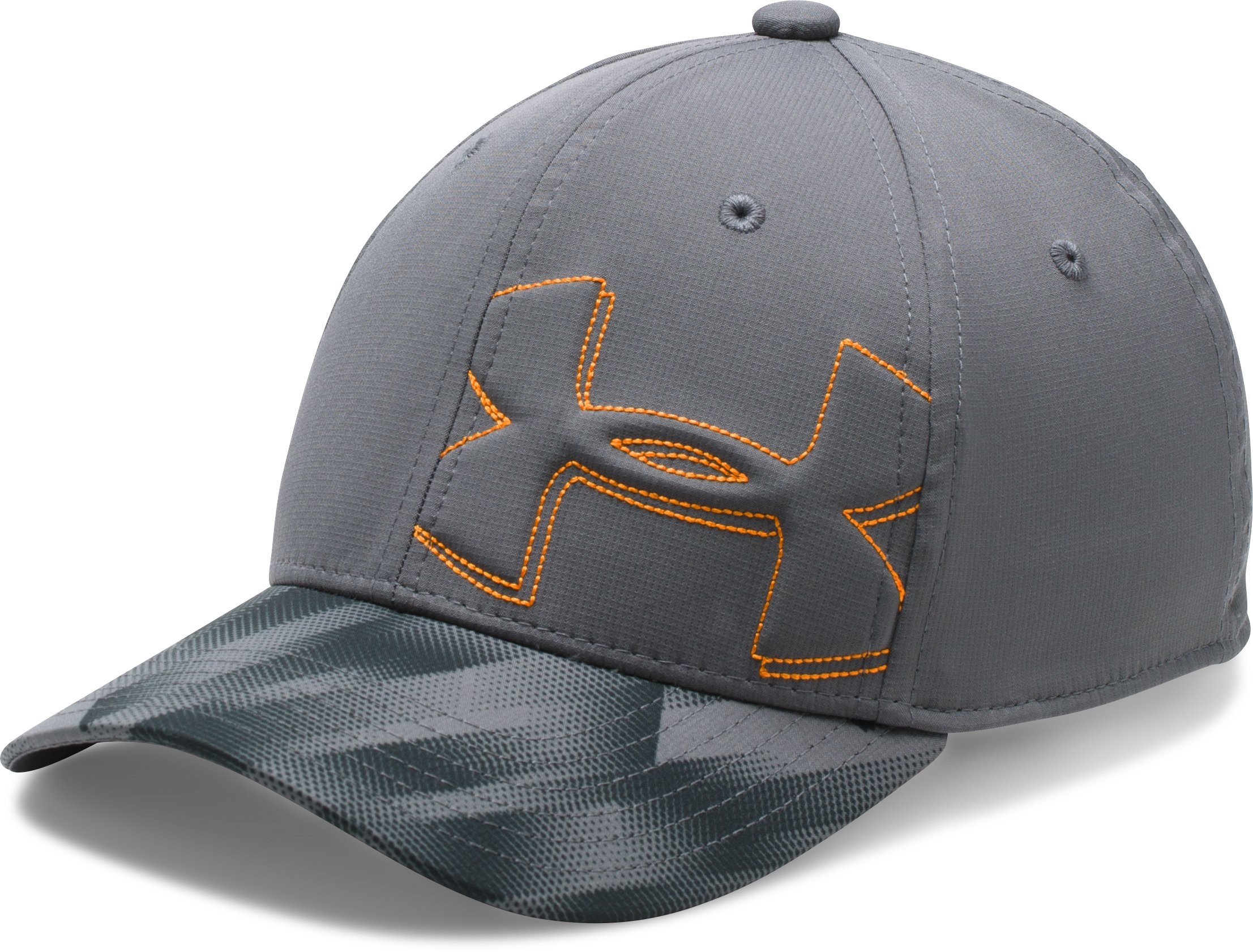 Boys' UA Billboard 2.0 Cap, Graphite