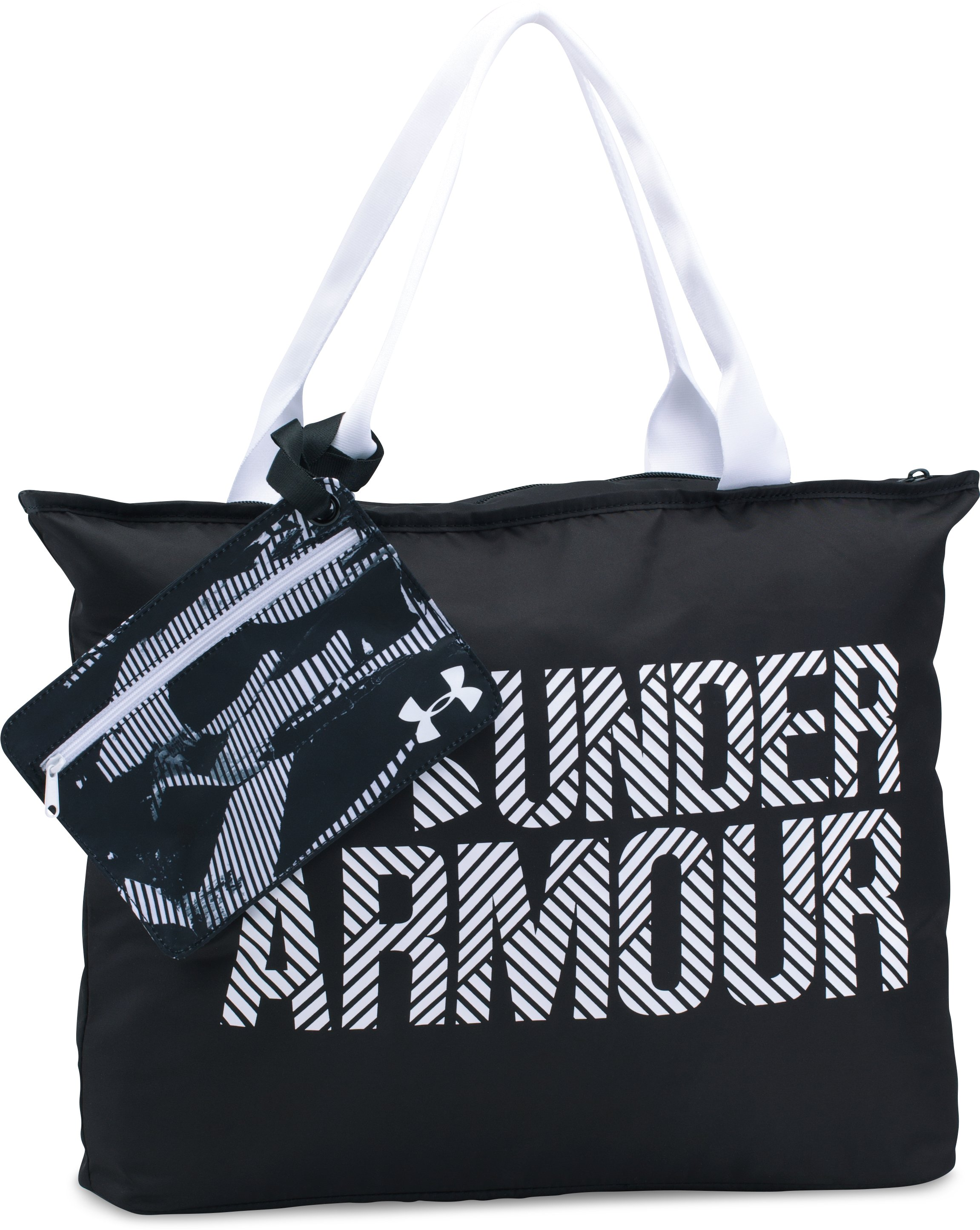 Women's UA Big Wordmark Tote 2.0, Black