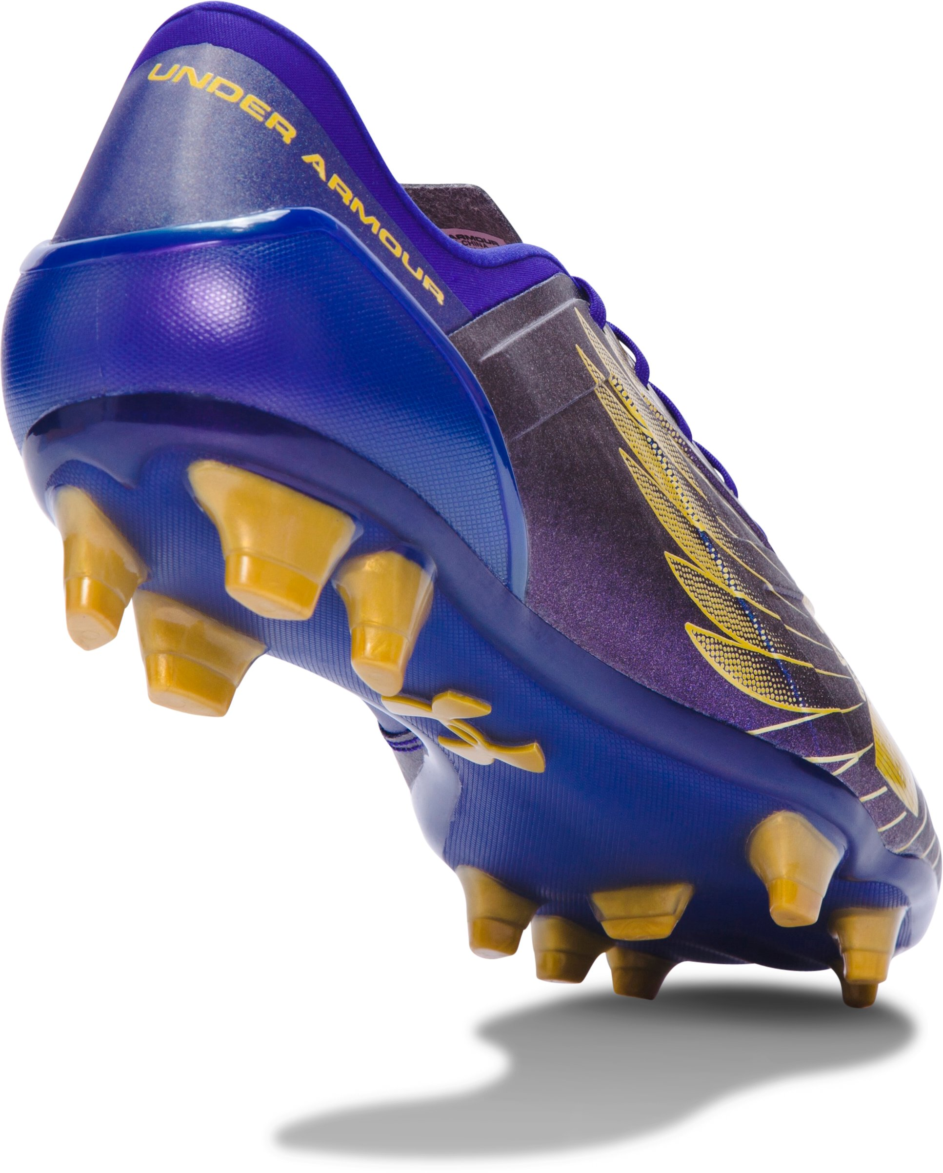 Men's UA Spotlight FG Soccer Cleats — Limited Edition, GRAPE FUSION, undefined