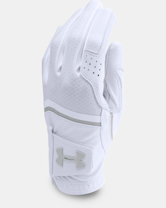 Women's UA CoolSwitch Golf Glove, White, pdpMainDesktop image number 0