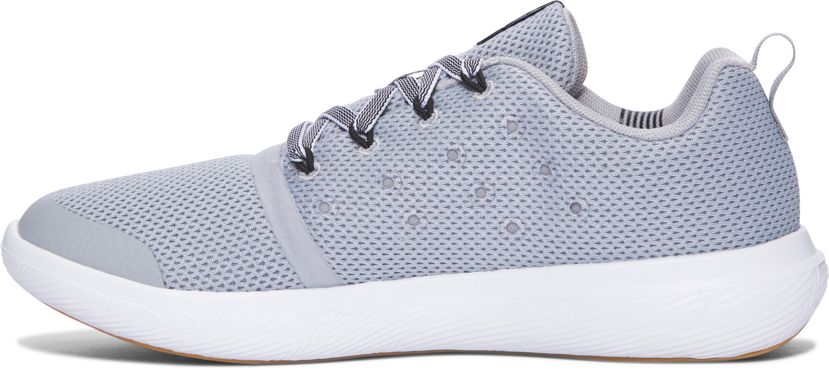 Kids' Grade School UA Charged 24/7 Low Vibes Lifestyle Shoes, OVERCAST GRAY, undefined