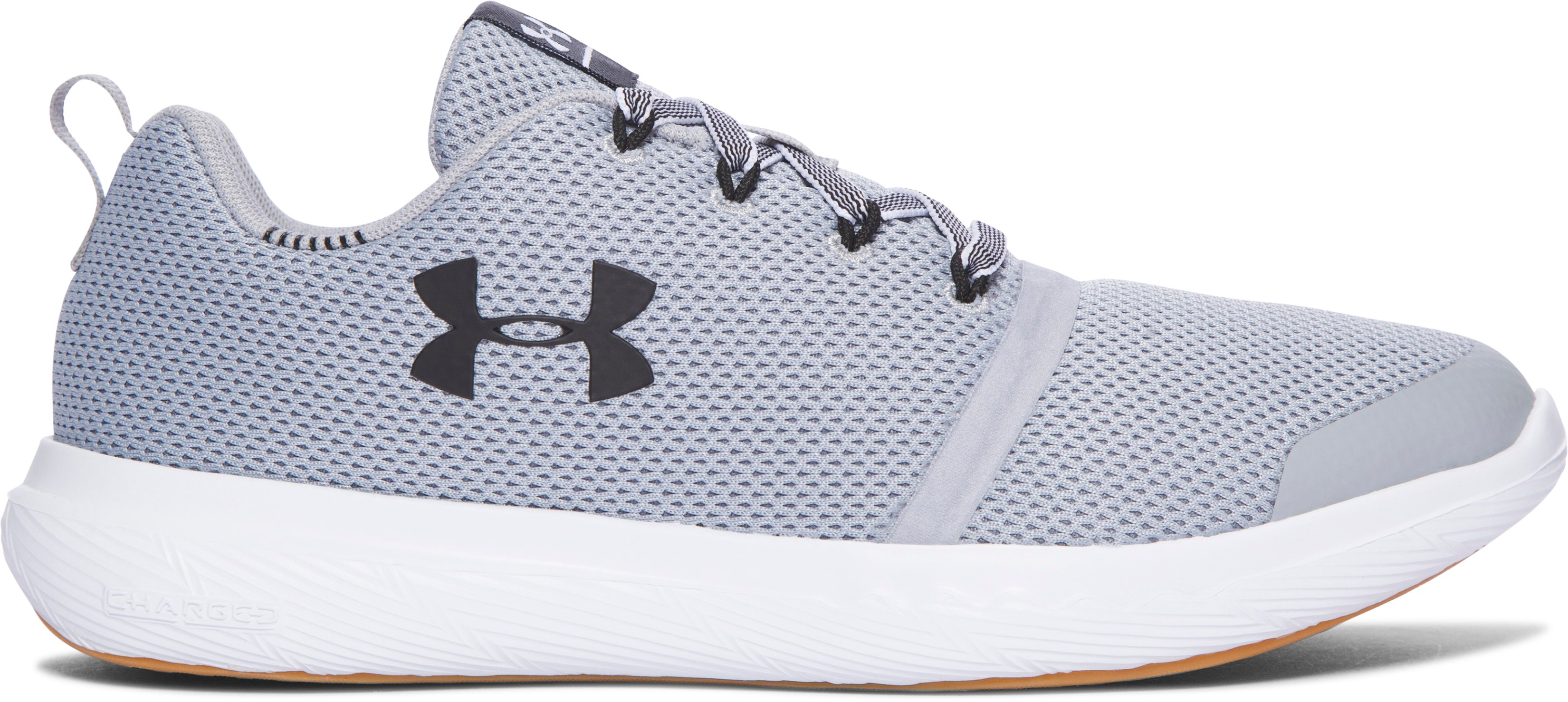 Kids' Grade School UA Charged 24/7 Low Vibes Lifestyle Shoes, OVERCAST GRAY