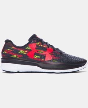 Boys' Grade School UA ClutchFit® RebelSpeed Graphic Running Shoes  2 Colors $56.99