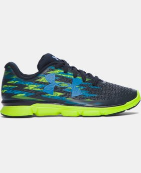 Boys' Pre-School UA ClutchFit® RebelSpeed Graphic Running Shoes  1 Color $50.99