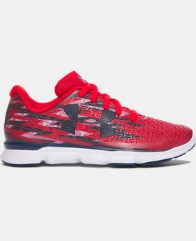 Boys' Pre-School UA ClutchFit® RebelSpeed Graphic Running Shoes  1 Color $38.24