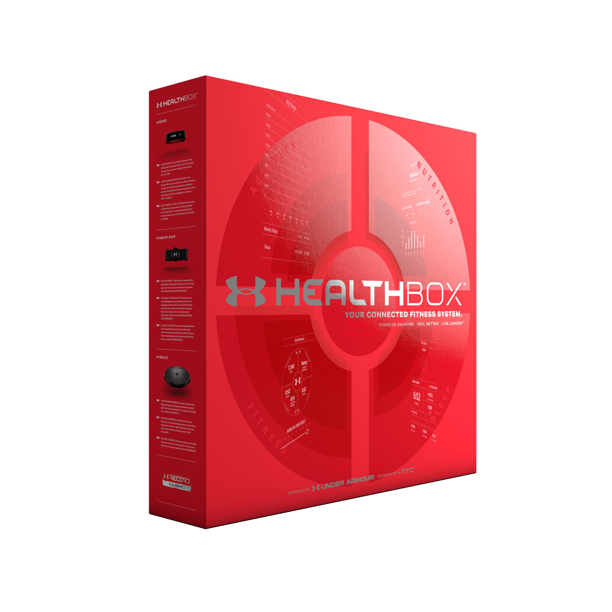 UA HealthBox™, Black , undefined