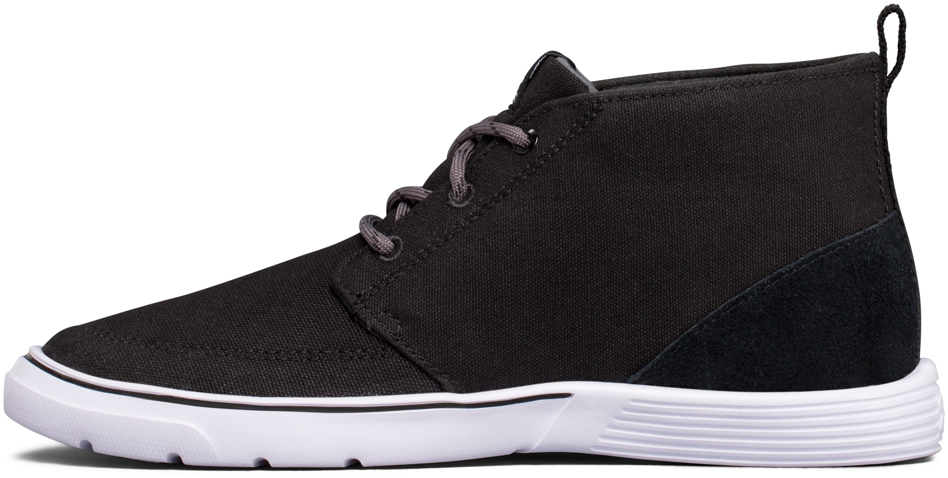 Boys' UA Street Encounter Mid Shoes, Black , undefined