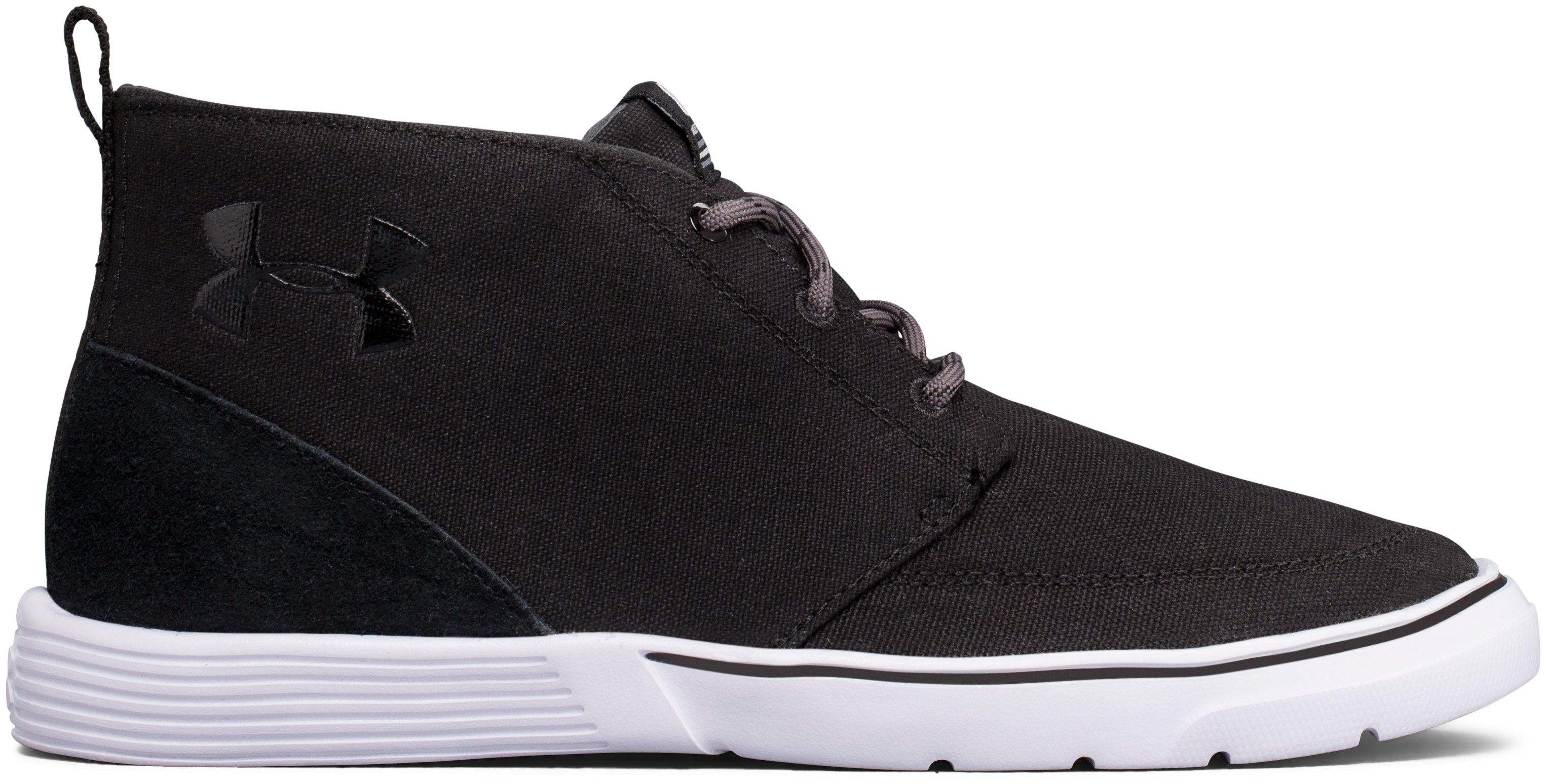 Boys' UA Street Encounter Mid Shoes, Black
