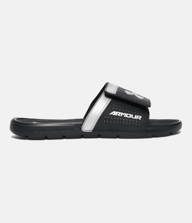 5a2696a81c4 Exotic adidas Originals mi adilette Slides leather suede ostrich skin  snakeskin. Black