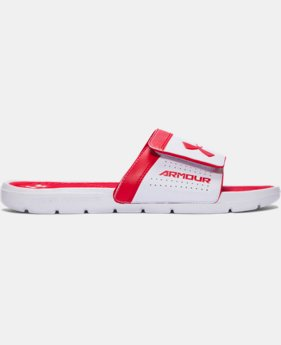 Men's UA Playmaker VI Adjustable Slides  1 Color $29.99