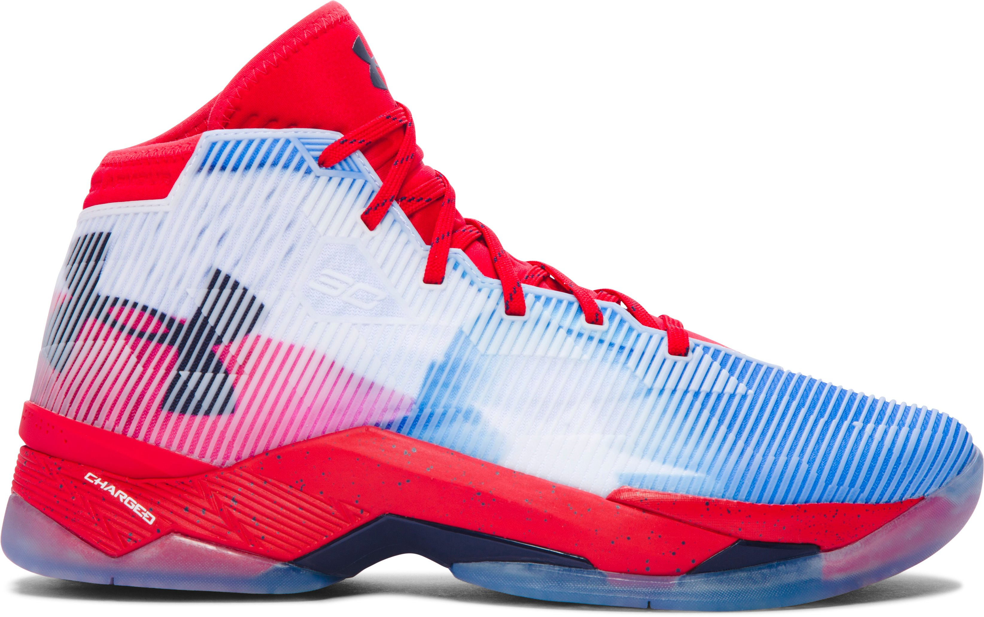 Men's UA Curry 2.5 — Limited Edition Basketball Shoes, Red