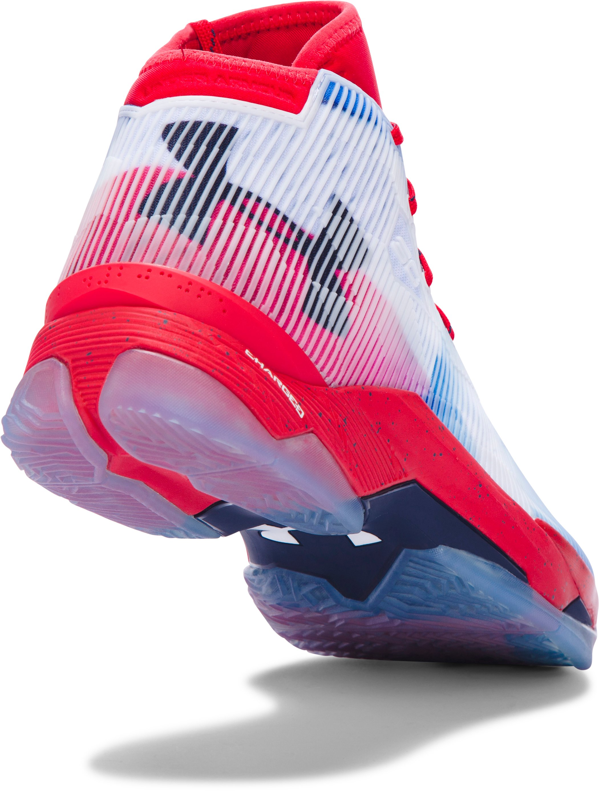 Men's UA Curry 2.5 — Limited Edition Basketball Shoes, Red, undefined